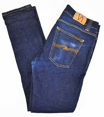 LEE MENS L3 S/&N RAW DNM 31 NUDIE BLUE JEANS NEW $189