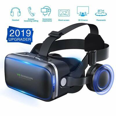 Virtual Reality  Headset VR Box Goggles 3D Glasses For Android iPhone Samsung