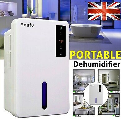 Dehumidifier Home Portable Electric Air Dryer Damp Moisture Free Bedroom Kitchen