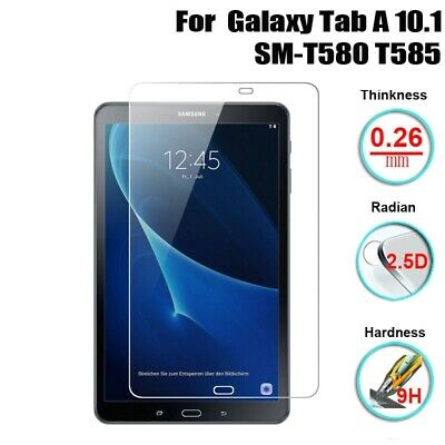 Screen Protector Tempered Glass Tablet For Samsung Galaxy Tab A 10.1 T580 T585