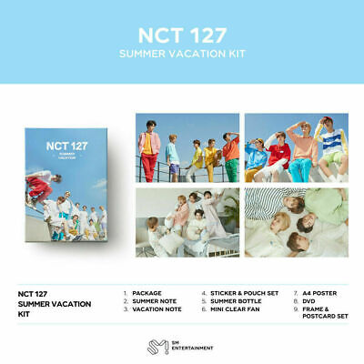 Nct 127 - 2019 Summer Vacation Kit: Full Package + Tracking, Sealed