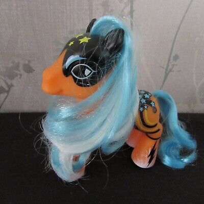 My Little Pony - G3 Orange, Blue & Black Pop Art Pony 2009 - M20