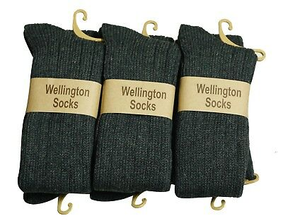Mysocks 6 Pairs Knee High Woolen Socks