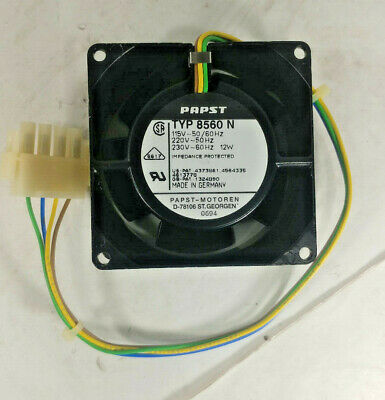 1 New Papst Typ 8560 N Full  Metal High Temperature Fan 12W Nnb ***Make Offer***