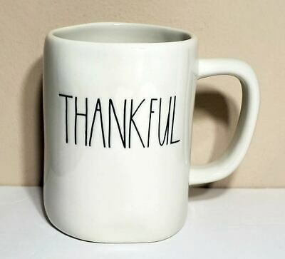 "New RAE DUNN Artisan Collection ""THANKFUL"" Mug By Magenta"