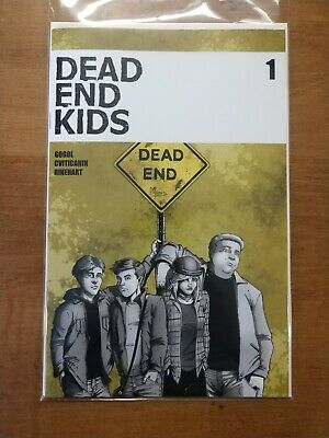 Dead End Kids #1 (2019) Main Cover First Print Source Point Press Comics