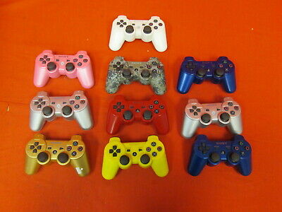 Lot Of 10 Sony PlayStation 3 PS3 Dualshock 3 Controllers 6991