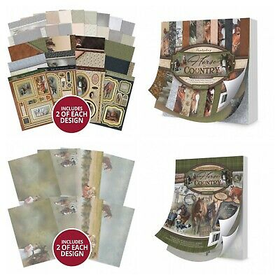 Hunkydory - Horse & Country - Card Collection, Paper Pad, Little Book, Parchment