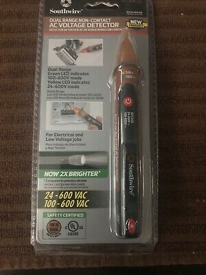 (New) Southwire 40150N Advanced Non-Contact AC Voltage Detector (12-1000Vac)
