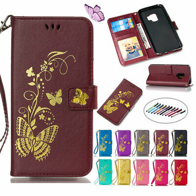 For Samsung Galaxy A7 A5 J7 J5 2017 Leather Wallet Card Holder Phone Case Cover