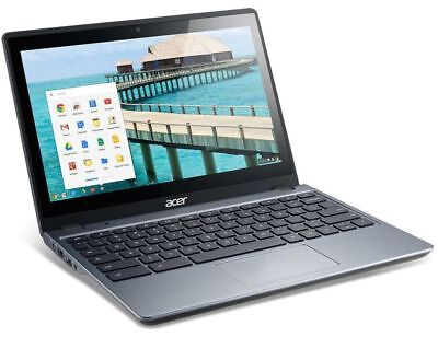 "Acer Chromebook Touchscreen C720P-2625 11.6"" LED Intel 2955U 1.4GHz 4GB 16GB SSD"