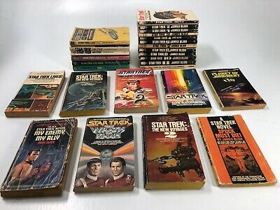 HUGE LOT 27 Star Trek Books by James Blish #1 - #12 1970-1975 + Spock Must Die