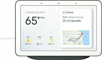 Google Home Hub with Google Assistant-Charcoal Grey-Excellent