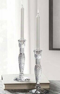 NEW Waterford BETHANY Crystal Candle Holder (Set of 2) CANDLESTICKS - NEW IN BOX