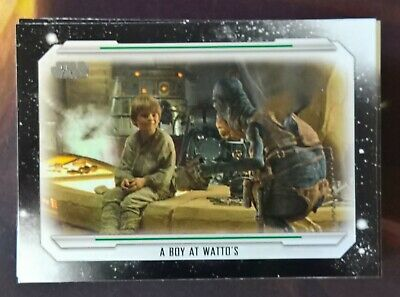 2019 Topps Star Wars Skywalker Saga COMPLETE Base Set 100 Cards