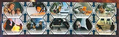 2019 Topps Star Wars Skywalker Saga COMPLETE 10 Card PATH OF THE JEDI Insert Set