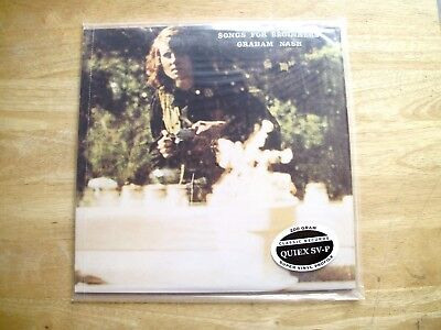 Classic Records Graham Nash Songs For Beginners SD7204 200G Sealed LP OOP