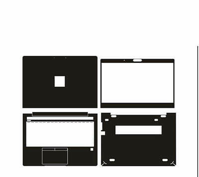 KH Special Laptop Leather Skin Stickers Fit HP EliteBook 745 G5