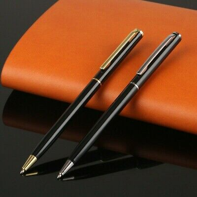 Stainless Steel Ballpoint Pen Office Ball Point Writing Pens Stationery Students