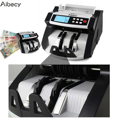 Uv & Mg Counterfeit Money Bill Cash Counter Bank Machine Currency Counting H3P5