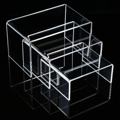 Display Riser Jewellery STURDY Acrylic Clear | SUPER DEAL Set of 3 | AUS Stock