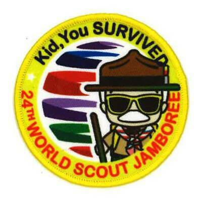 24th World Scout Jamboree Patch WSJ 2019 Contingent/Unit Patch Fun Gift Rare Bad