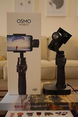 DJI Osmo Mobile (1st Gen) With Battery, Charging Cable, Case and Box