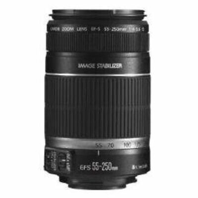 Canon EF-S 55-250mm f/4-5.6 is Image Stabilizer Telephoto Zoom Lens -