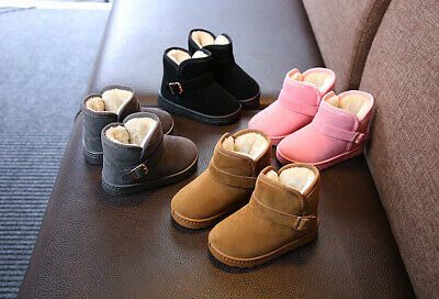 2019 Winter Chil kids Martin Boots Snow Baby Shoes Toddler Boys Girls Warm Boots