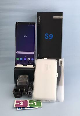 Samsung Galaxy S9 SM-G960U 64GB Coral Blue! Free Delivery! GSM Unlocked Device!