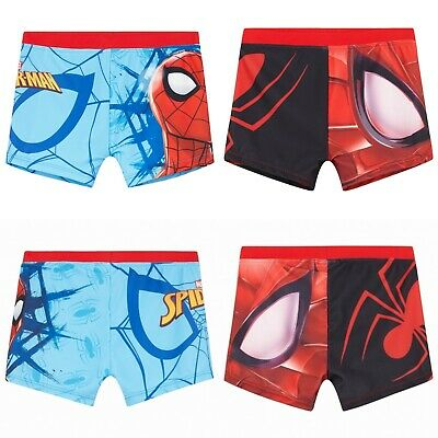 Boys Kids Children Spiderman Swimming Swim Trunk Shorts Boxer age 4-10 years