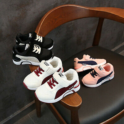 Kids Boys Girls Shoes Toddler Infant Baby Casual Sports Shoes Trainers Sneakers