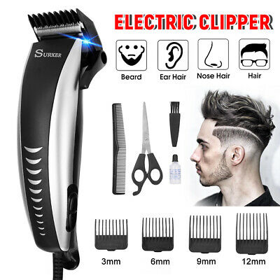 Hair Clipper Beard Trimmer Electric Shaving Razor Barber Cutting Haircut Machine