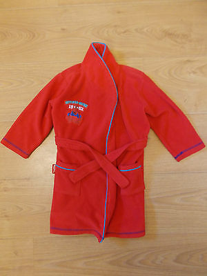 Boy's Spiderman Dressing Gown 2-3 Years Red