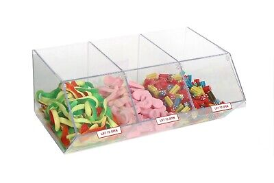 Pick N Mix Dispenser for Unwrapped Sweets Food Sweet Nuts Display OW9712