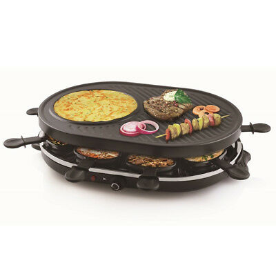 BARGAIN: T898 - Gourmet Raclette Party Grill Set for 8 People