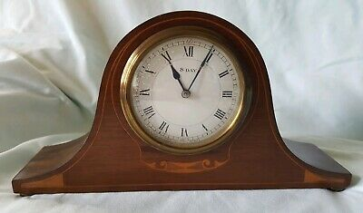 JAPY FRÈRES & CIE NAPOLEON HAT INLAID MANTEL CLOCK working