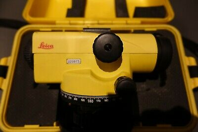 Leica Runner 24 X Magnification Automatic Building Site Surveying Level