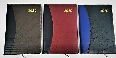 2020 A5  Daily Diary - Planner New Year Notebook Address Book