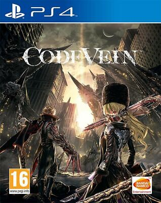 Code Vein (PS4) Out 27th Sept New & Sealed UK PAL