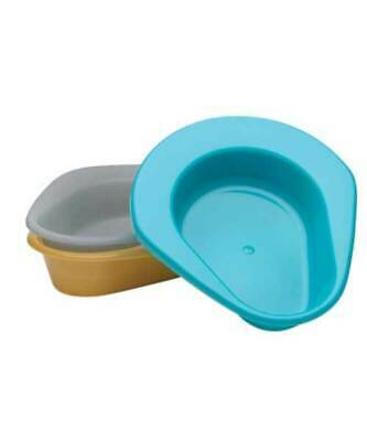 Original Stackable Bedpan, Turquoise. #H112-07 - 2.5 Quart Max 250lbs - NEW