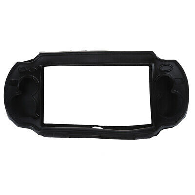 NEW Black Silicone Skin Protector Cover Case Shell for Sony PS Vita PSV J7D8