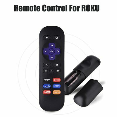 Replacement Remote Control for Roku 1 2 3 4 Express Premiere Ultra w/ 6 App New