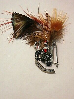 Vintage German Bavarian Octoberfest Hat Pin Brooch - LEAVENWORTH