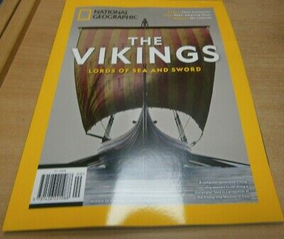 National Geographic Vikings magazine 2019 Lords of Sea and Sword