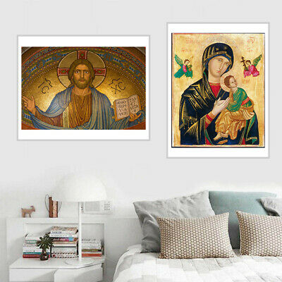 Christ Religious Faith Art Canvas Painting Poster Picture Wall Decor Unframed