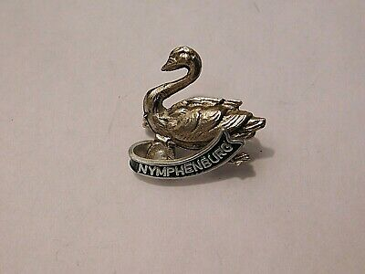 Vintage German Bavarian Octoberfest Hat Pin Brooch - NYMPHENBURG