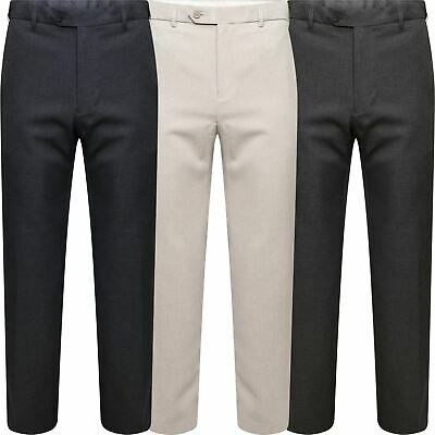 Marks & Spencer Mens Active Elastic Waist Trousers M&S Smart Formal Long Pants