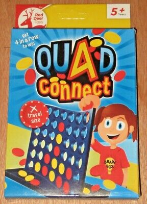 Quad Connect Travel Size Game