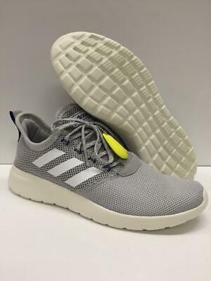 New Adidas F36645 Lite Racer RBN Running Shoes Lightweight Textile Gray Mens 11